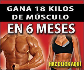 Como aumentar masa muscular y quemar grasa