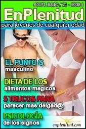 Dieta de los alimentos magicos  El punto G masculino Psicología de los signos 5 Trucos para parecer mas delgad@ y mucho más en la Revista EnPlenitud Nº 171