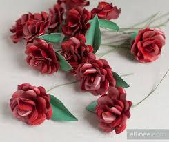 Como Hacer Rosas De Papel Enplenitud - Cmo-hacer-rosas-de-papel